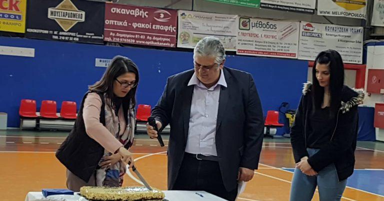 2019 Κοπή πρωτοχρονιάτικης πίτας